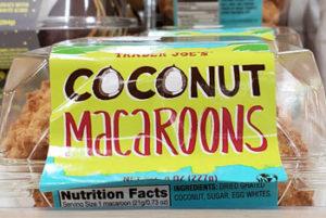 Trader Joe's Coconut Macaroons