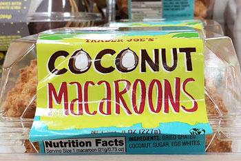 Trader Joe S Coconut Macaroons Reviews Trader Joe S Reviews
