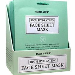 Trader Joe's Rich Hydrating Face Sheet Mask