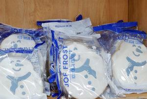 Trader Joe's Joe Frost Iced Snowman Sugar Cookie