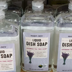 Trader Joe's Lavender Tea Tree Dish Soap