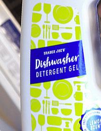Trader Joe's Lemon Dishwasher Detergent