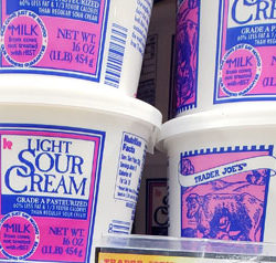 Trader Joe's Light Sour Cream