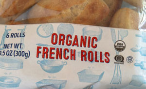 Trader Joe's Organic French Rolls