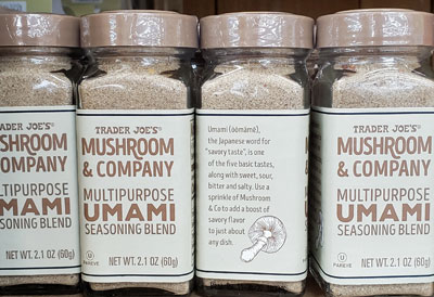 Trader Joe's Mushroom & Company Multipurpose Umami Seasoning Blend