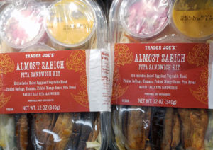 Trader Joe's Almost Sabich Pita Sandwich Kit