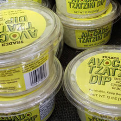 Trader Joe's Avocado Tzatziki Dip