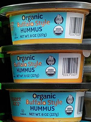 Trader Joe's Organic Buffalo Style Hummus
