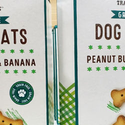 Trader Joe's Grain-Free Dog Treats with Peanut Butter & Banana