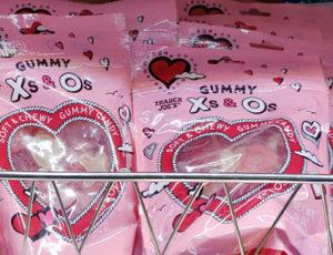 Trader Joe's Gummy X's and O's