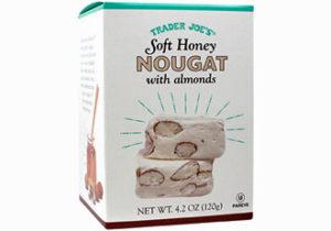Trader Joe's Soft Honey Nougat with Almonds