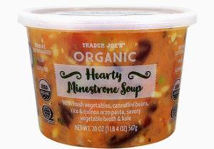 Trader Joe's Organic Hearty Minestrone Soup