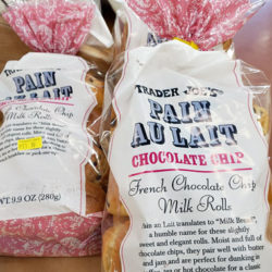 Trader Joe's Chocolate Chip Pain Au Lait