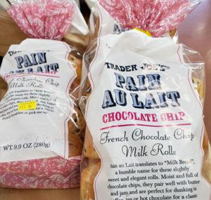 Trader Joe's Chocolate Chip Pain Au Lait