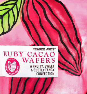 Trader Joe's Ruby Caco Wafers