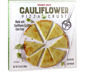 Trader Joe's Cauliflower Pizza Crust