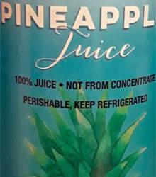 Trader Joe's Cold-Pressed Pineapple Juice