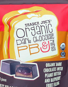 Trader Joe's Organic Dark Chocolate PB&J Minis