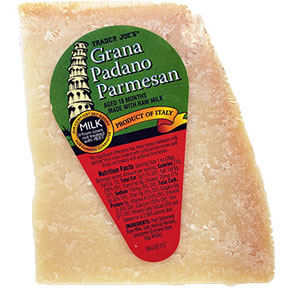 Trader Joe's Grana Padano Parmesan