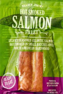 Trader Joe's Hot Smoked Salmon Fillet