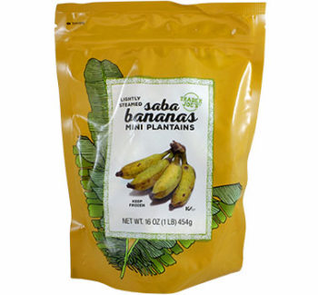 Trader Joe's Saba Bananas (Mini Plantains)