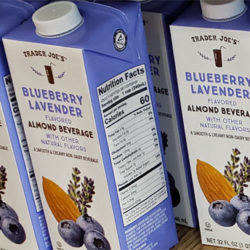 Trader Joe's Blueberry Lavender Almond Milk Beverage