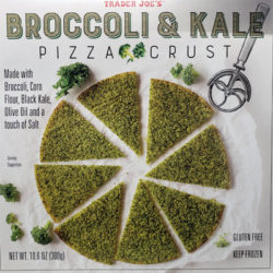 Trader Joe's Broccoli & Kale Pizza Crust
