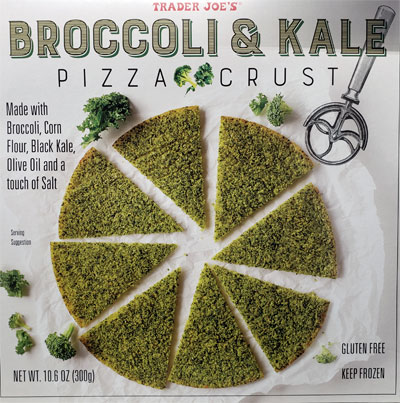 Trader Joe's Broccoli & Kale Pizza Crust