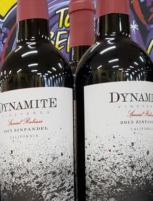 Dynamite Vineyards California Zinfandel Wine