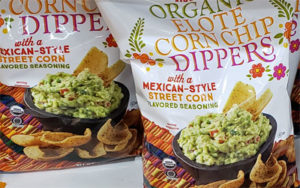 Trader Joe's Organic Elote Corn Chip Dippers