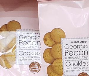 Trader Joe's Georgia Pecan Butterscotch Chip Cookies