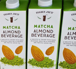 Trader Joe's Matcha Almond Milk Beverage