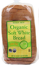 Trader Joe's Organic Soft White Bread