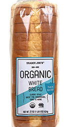Trader Joe's Organic White Bread