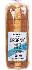 Trader Joe's Organic White Bread