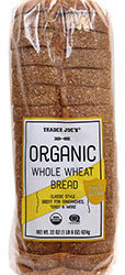 Trader Joe's Organic Whole Wheat Bread