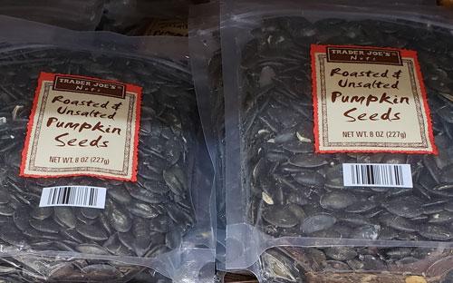 Trader Joe's Roasted & Unsalted Pumpkin Seeds