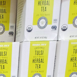 Trader Joe's Organic Tulsi Holy Basil Herbal Tea