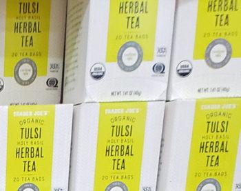 Trader Joe's Organic Tulsi Holy Basil Herbal Tea