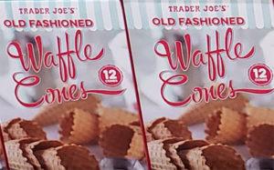 Trader Joe's Old-Fashioned Waffle Cones