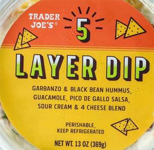 Trader Joe's 5 Layer Dip