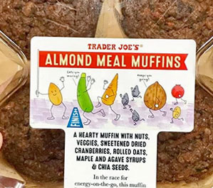 Trader Joe's Almond Meal Muffins