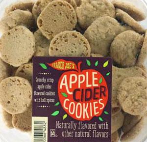 Trader Joe's Apple Cider Cookies