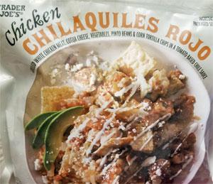 Trader Joe's Chicken Chilaquiles Rojo
