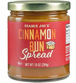 Trader Joe's Cinnamon Bun Spread