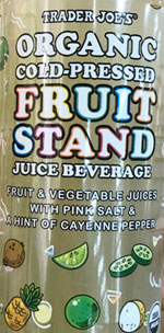 Trader Joe's Organic Cold-Pressed Fruit Stand Juice