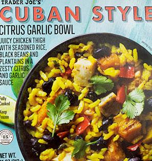 TradeR Joe's Cuban Style Citrus Garlic Bowl