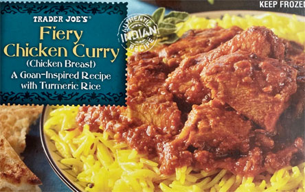 Trader Joe's Fiery Chicken Curry Reviews