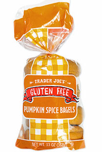 Trader Joe's Gluten Free Pumpkin Spice Bagels Reviews