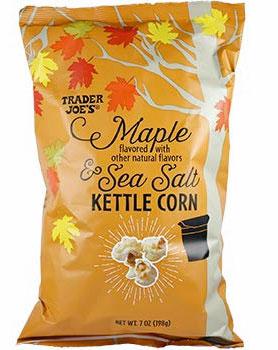 Trader Joe's Maple & Sea Salt Kettle Corn